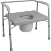 bedpans & commodes: Compass Health Brands - ProBasics® Bariatric Commode with Extra Wide Seat