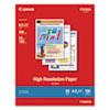 Canon Canon® High Resolution Paper CNM 1033A011