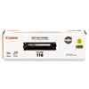 Canon Canon 1977B001 (116) Toner, 1,500 Page-Yield, Yellow CNM 1977B001