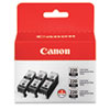 Canon Canon 2945B004 Ink, Black, 3/Pack CNM 2945B004