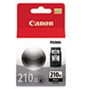 ink cartridges: Canon 2973B001 (PG-210XL) High-Yield Ink, 401 Page-Yield, Black