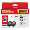 Imaging Supplies and Accessories: Canon 2973B004 Inks  Paper Pack, PGI-210XL, CL211XL, 2 Inks  50 Sheets 4 x 6 Paper