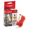 Canon Canon BCI6Y (BCI-6) Ink, 370 Page-Yield, Yellow CNMBCI6Y