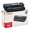 Canon Canon CART105 Toner, 10000 Page-Yield, Black CNM CART105