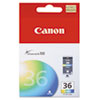 ink cartridges: Canon CLI36 (CLI-36) Ink Tank, 100 Page-Yield, Tri-Color