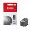 Canon Canon PG40 (PG-40) Ink, 195 Page-Yield, Black CNM PG40
