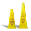 Continental Tri-Cone™ Wet Floor Cones CON 122YW-CS