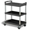 Janitorial Carts, Trucks, and Utility Carts: Continental - Bussing Cart