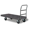 utility carts, trucks and ladders: Continental - One Handle Utility Platform Truck (Program #N1312)