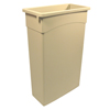 waste receptacles: Continental - Wall Hugger™ Receptacles