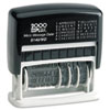 Consolidated Stamp COSCO 2000 PLUS® Self-Inking Micro Message Dater COS 011090
