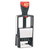 Consolidated Stamp COSCO 2000 PLUS® Self-Inking Heavy Duty Stamps with Microban COS011200