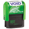 Clean and Green: 2000 PLUS® Green Line Self-Inking Message Stamp