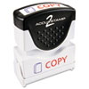 Consolidated Stamp Accustamp2 Pre-Inked Shutter Stamp with Microban® COS 035532
