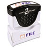 Consolidated Stamp Accustamp2 Pre-Inked Shutter Stamp with Microban® COS 035534
