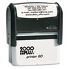 Consolidated Stamp 2000 PLUS® Self-Inking Custom Message Stamp with Microban COS 1SI60P