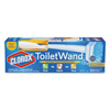 cleaning chemicals, brushes, hand wipers, sponges, squeegees: Clorox® ToiletWand™ Kit with Storage Caddy