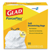 clorox: Glad® Tall Kitchen Drawstring Bags