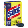 cleaning chemicals, brushes, hand wipers, sponges, squeegees: Clorox® S.O.S® Steel Wool Soap Pad