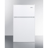 Summit Appliance ADA Compliant Energy Star Listed Two-Door Refrigerator-Freezer with Cycle Defrost and Zero Degree Freezer SMA CP351WADA