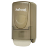 soaps and hand sanitizers: Softsoap® Plastic Liquid Soap Dispenser, 800mL, 5 1/4w x 3 7/8d x 10h, Smoke