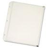 Binder Accessories Binder Dividers: Cardinal® Zipper Binder Pockets