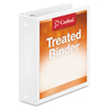 Clean and Green: Cardinal® Treated Binder ClearVue™ Locking Round Ring Binder