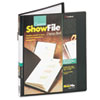 Cardinal Brands Cardinal® ShowFile™ Presentation Book with Custom Cover Pocket CRD 50232