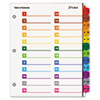 Cardinal Brands Cardinal® OneStep® Printable Table of Contents and Dividers - Double Column CRD 60990