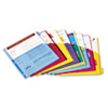 Cardinal Brands Cardinal® Poly Index Dividers for Ring Binders CRD 84017