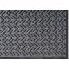 Crown Mats EcoPlus™ Rubber Border Wiper/Scraper Mat CRM ECR035CH