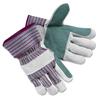 Gloves Leather Gloves: Men's Economy Leather Palm Gloves
