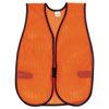 MCR Safety MCR™ Orange  Polyester Safety Vest CRW V201
