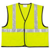 workwear coverall: MCR™ Safety Luminator™ Class 2 Safety Vest