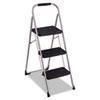 Cosco Cosco® Three-Step Big Step Folding Step Stool CSC 11408PBL1E