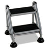 Cosco Cosco® Rolling Commercial Step Stool CSC 11824GGB1