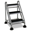 Cosco Cosco® Rolling Commercial Step Stool CSC 11834GGB1