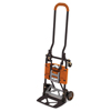 Consolidated Stamp Cosco® 2-in-1 Multi-Position Hand Truck and Cart CSC 12222BGO1E