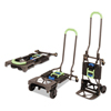 Consolidated Stamp Cosco® 2-in-1 Multi-Position Hand Truck and Cart CSC 12222PBG1E