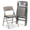 Cosco Bridgeport™ Deluxe Fabric Padded Seat and Back Folding Chair CSC 36885CVG4