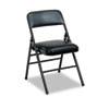 Cosco Bridgeport™ Deluxe Vinyl Padded Series Folding Chair CSC 608830054