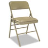 Cosco Bridgeport™ Deluxe Vinyl Padded Series Folding Chair CSC 60883TAP4