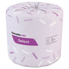 Select Standard Bath Tissue, 1-Ply, 1000 Sheets/Roll, 96 Rolls/CT