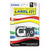Casio Casio® Label Printer Iron-On Transfer Tape CSO XR118BKS