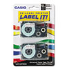 Audio Video Cassettes Tapes VHS Video Cassettes: Casio® Tape Cassette for KL Label Makers