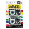 Casio Casio® Tape Cassette for KL Label Makers CSO XR18WE2S