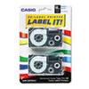 Casio Casio® Tape Cassette for KL Label Makers CSO XR18WEB2S