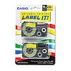 Casio Casio® Tape Cassette for KL Label Makers CSO XR18YW2S