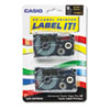 Casio Casio® Tape Cassette for KL Label Makers CSO XR9BKG2S