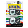Casio Casio® Tape Cassette for KL Label Makers CSO XR9WEB2S